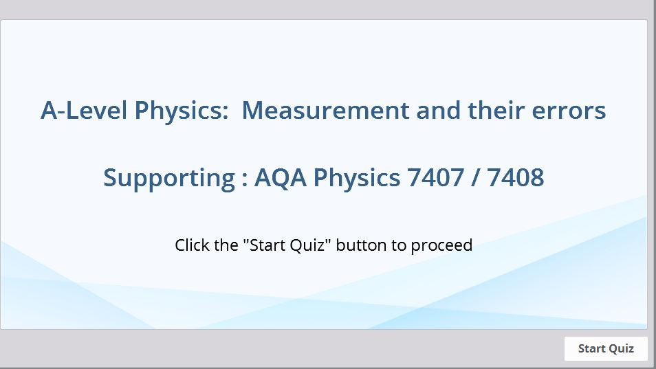 physics physical measurement revision